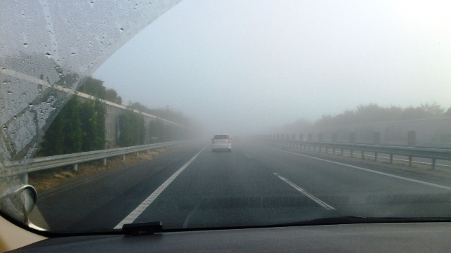 ドンドン酷くなる霧!! ∑( ̄Д ̄;)なぬぅっ!!