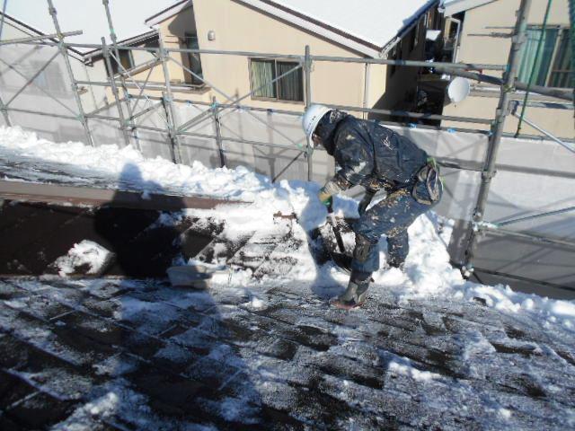 11月に雪かき・・・!? !!!オーノー!!!