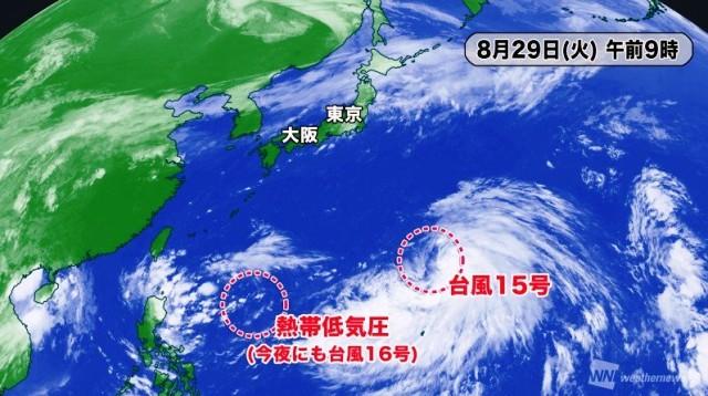 台風のたまご・・・!? ((= ̄□ ̄=;))ナ、ナント!!