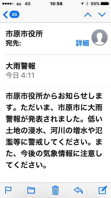 市原市情報発信メール! w( ̄▽ ̄;)wワオッ!!